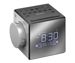 Coolest Clock by Sony Alarm Clock With Time Projection Noel Leeming