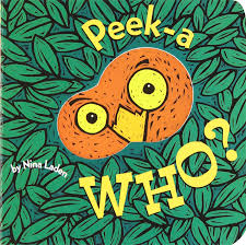 halloween books preschool peek a who nina laden 9780811826020 amazon com books