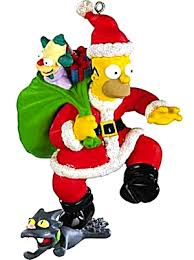 carlton ornament talking homer d oh ho ho merry