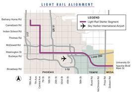 light rail to sky harbor phoenix light rail opens the transport politic