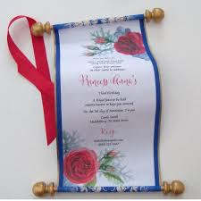 scroll invitation beauty and the beast birthday invitation scroll birthday