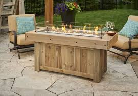 outdoor greatroom fire table outdoor greatroom vintage linear gas fire pit table embers