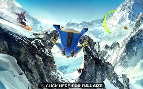 raiden mortal kombat x 4k 5k wallpapers steep wingsuit snowboarding paragliding 5k 4k wallpaper