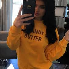 jenner sweater 20 rad tops jenner peanut butter rad sweater from