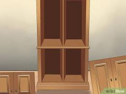 how to whitewash stained cabinets how to whitewash cabinets 12 steps with pictures wikihow