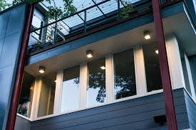 solar powered exterior modern home lighting home landscapings mid