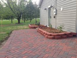 paver patio edging options 48 building a patio with pavers choose a flooring option like