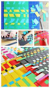 art for kids paper weaving babble dabble do