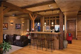 timber frame home basements beams and woods