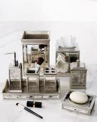 mirrored bathroom accessories vintage vanity accessories neiman marcus