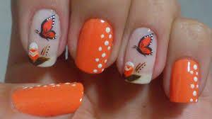 butterfly nail art easy tutorials youtube