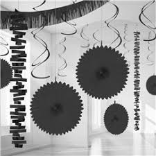 black decorations funkyparty