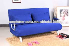 metal flat pack furniture futon sofa bed with removable arm rests