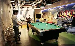 Pool Table Meeting Table 5 Of The Coolest Workplaces In Singapore Business News Top