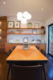 Diy Mid Century Shelving Dining Room Modern With Floating Shelves - Floating shelves in dining room