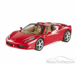 convertible ferrari ferrari 458 spider convertible red mattel wheels bly64 1