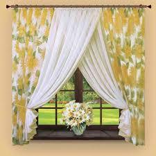 Interior Designs  Simple Kitchen Curtains Ideas Photo  Creative - Simple kitchen curtains