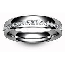 white gold eternity ring 18ct white gold half eternity ring tbc1017h the beautiful company