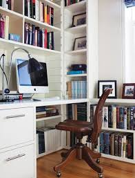Computer Desk Bookcase Space Saving Built In Office Furniture In Corners Personalizing