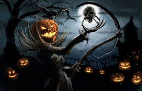 halloween barn background horrifying wallpapers group 40