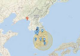 map us and korea 40 maps that explain korea vox