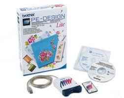 international home sewing machine and embroidery machine - Pe Design