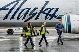 Alaska Executive Travel images Symbolic flight signifies end of an era the cordova times jpg