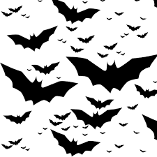 flying bat fabric bats by eleventy five black and white bats