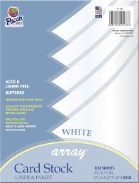 amazon com pacon card stock 8 1 2 inches by 11 inches ivory