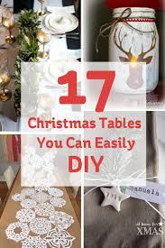 best 25 xmas table decorations ideas on pinterest christmas