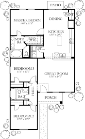 Bungalow House Plans On Pinterest by 1200 Square Feet 3 Bedrooms 2 Batrooms Floor Plans Pinterest