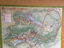 map of rothbury explorer map picture of cragside house and gardens rothbury