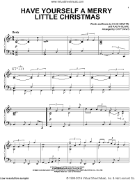 yourself a merry sheet for piano