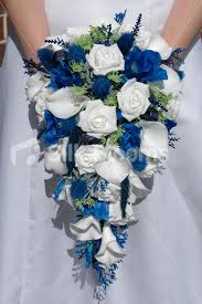 wedding flowers blue 59 fresh blue and white wedding bouquet wedding idea