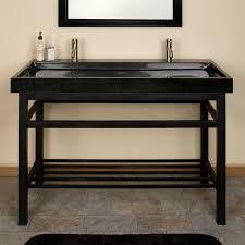 bathroom narrow depth mahogany bathroom vanity for undermount