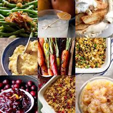 our thanksgiving dinner menu gluten free and vegetarian