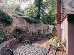 Patio Retaining Wall Ideas Small Terrace Design Ideas Patio Retaining Wall Installation