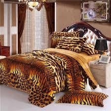 Unique Bed Sheets Tiger Skin Style Fashion Unique Bedding Set Winter Bedsheets