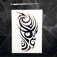 3d henna temporary tattoo sticker warrior knight palace guards in