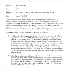 board memo template company association memo example 8 company