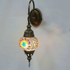 Glass Wall Sconces For Candles Sconce Mosaic Glass Wall Sconces Details About Handmade Stunning