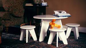 childrens table and stools modern tots home of the modern train table large wall letters and