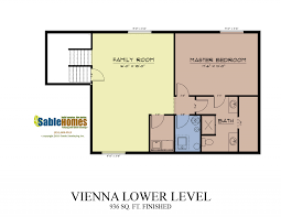 Picture Of A Floor Plan by Vienna Sable Homes