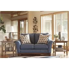 ashley furniture janley sofa ashley furniture janley denim living room loveseat