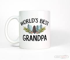 world u0027s best grandpa rustic coffee mug u2013 most toasty