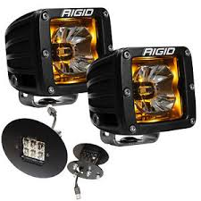 led fog light kit rigid radiance led fog light kit w amber backlight for gmc sierra