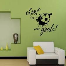 Wall Quotes For Living Room by Online Get Cheap Football Wall Quotes Aliexpress Com Alibaba Group