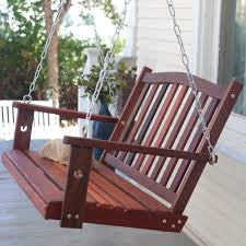 belham living richmond curved back porch swing hayneedle