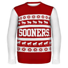 raiders light up christmas sweater university of oklahoma ugly christmas sweater university of oklahoma
