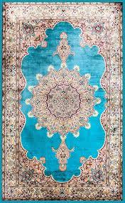 Aqua Silk Rugs Silk Carpets And Rugs From Mumbai India